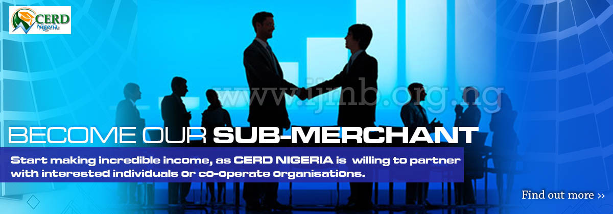 Become ourIJMB submerchant/Agent
